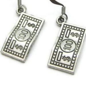 💸 $100 Bill Earrings